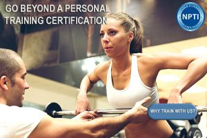 become a personal trainer with NPTI