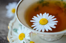 Chamomile Tea helps improve sleep quality