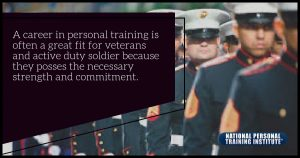 GI Bill- Veterans to Become Certified Personal Trainers