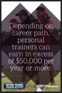Salary of Certified Personal Trainer- NPTI Fitness