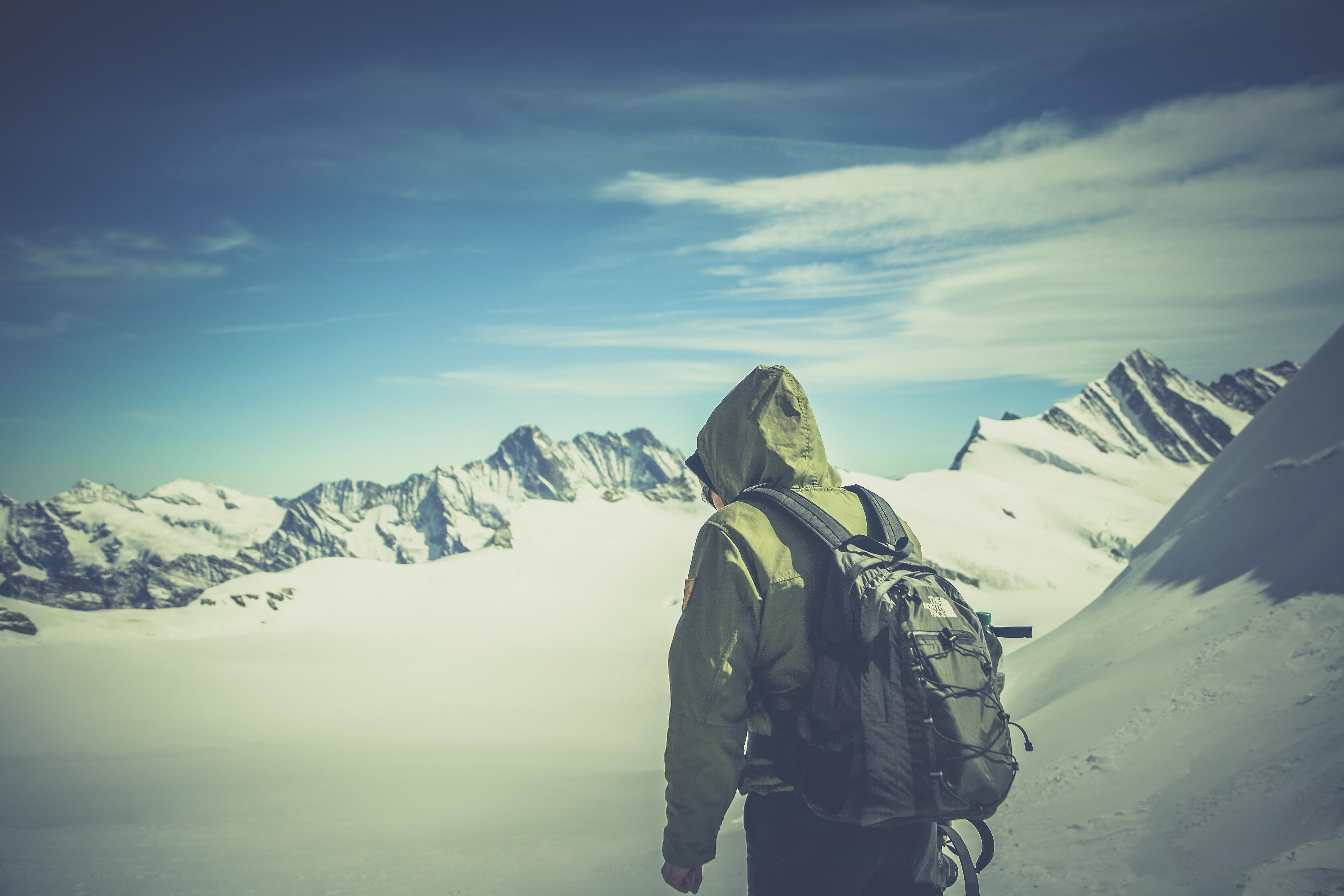 Aletsch Glacier Ewigschneefeld
