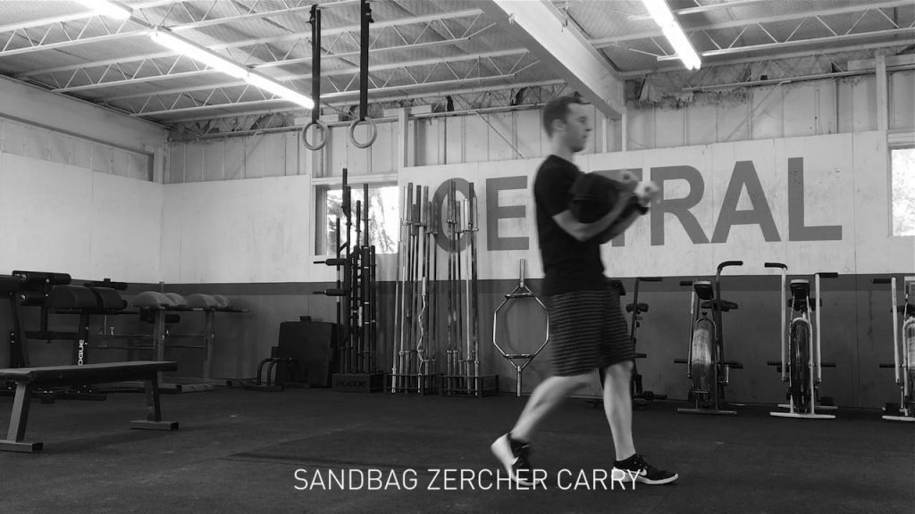 Sandbag zercher carry